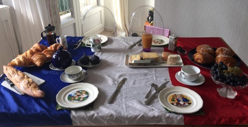 French themed brunch